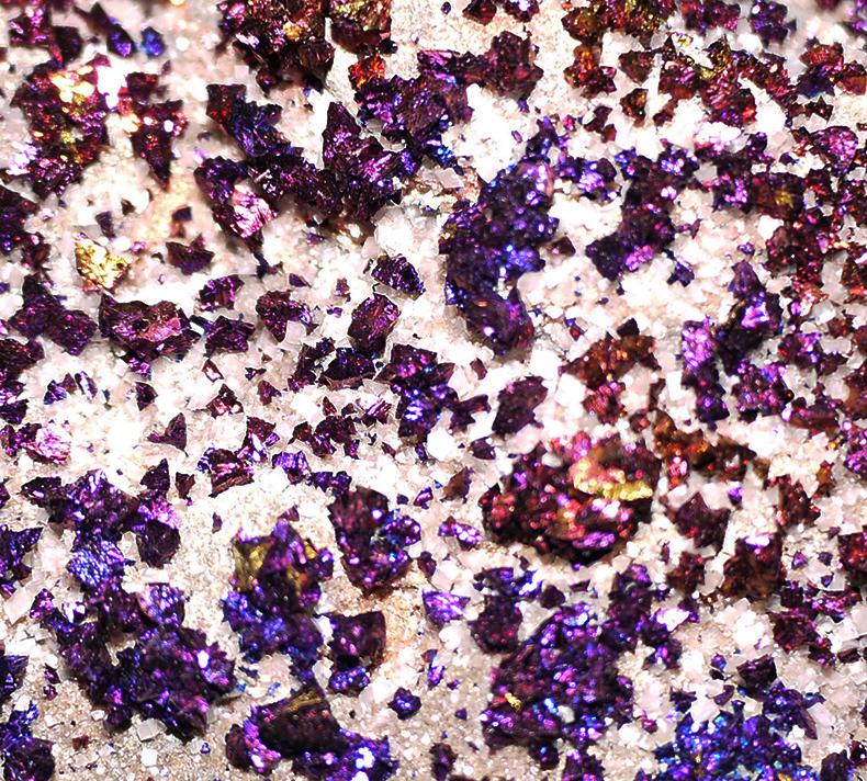 Iridescent Chalcopyrite Crystals