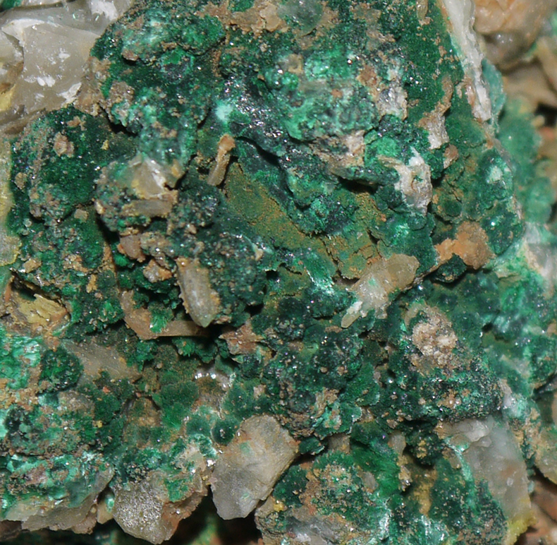 Cerussite and Malachite