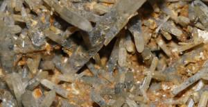 Bi Colour Quartz Needles