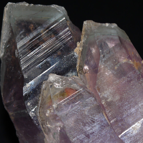 Amethyst With Chlorite Inclusion