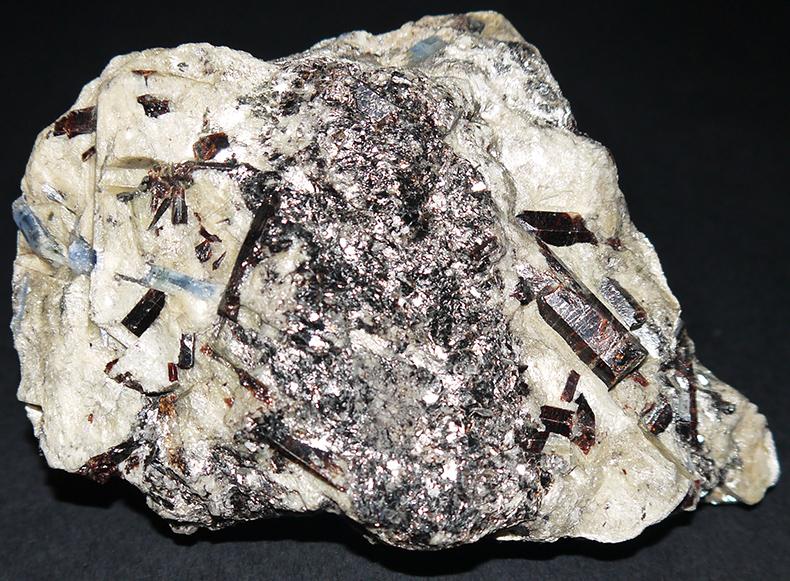 Staurolite and Kyanite