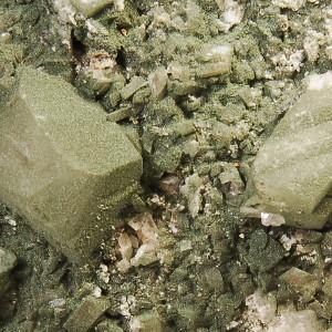 Orthoclase variety Adularia with Apatite
