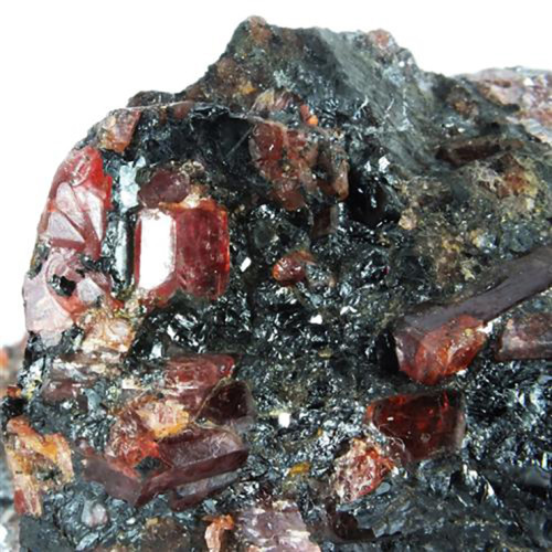 Rhodonite In Galena
