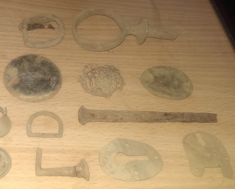Various detector finds